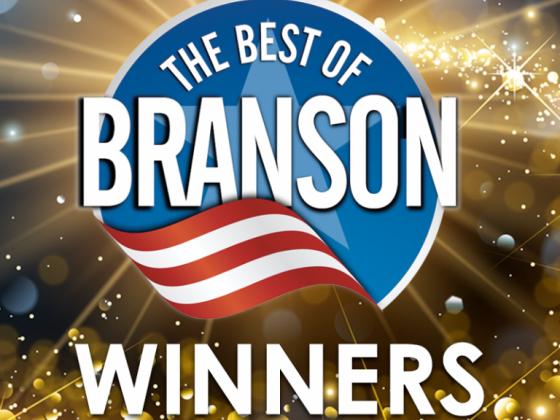 Congratulations 2018 Best of Branson Winners