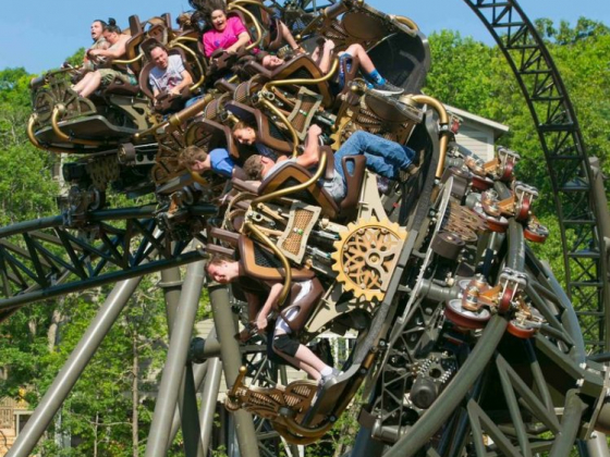 Spring break fast and furious at Silver Dollar City