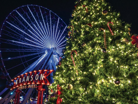 Deck The Halls: Branson alight with all kinds of trees