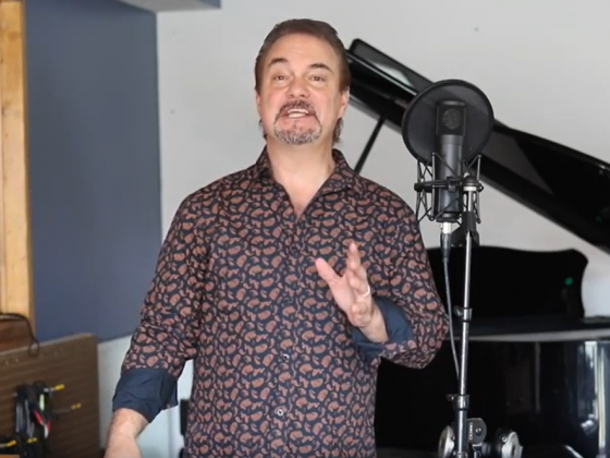 "Doug Gabriel performs ""Bridge Over Troubled Water"" from his home studio"