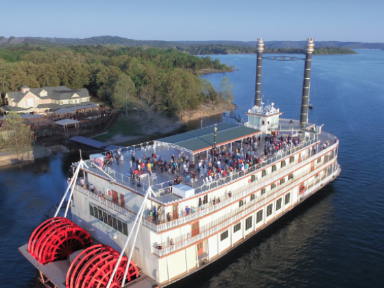 Enjoy a Scenic Tour on the Showboat Branson Belle