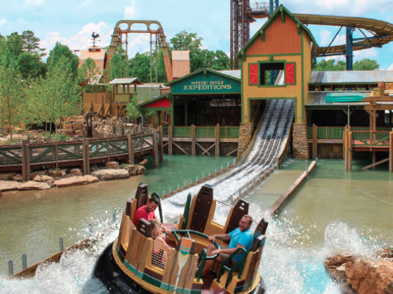 A Raging River Record Opens at Silver Dollar City
