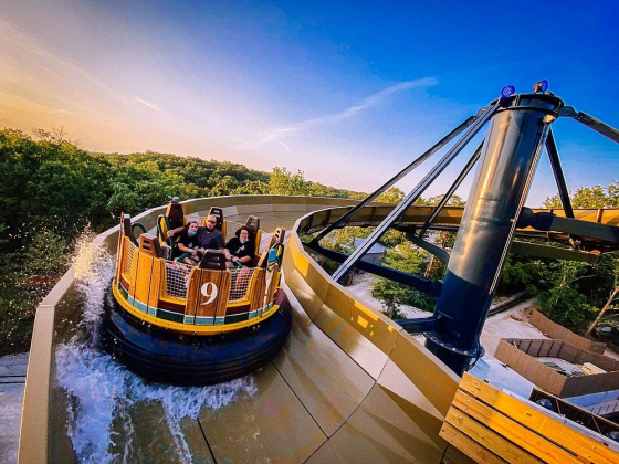 Mystic River Finally Falls: Silver Dollar City celebrates unique new ride