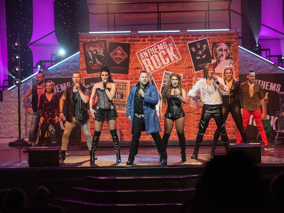 Rock Solid Rock 'n' Roll: New show has fans dancing in the aisles